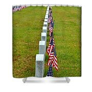 Remembering Veteran's Day Shower Curtain