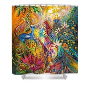 Remembering Yotvata Shower Curtain