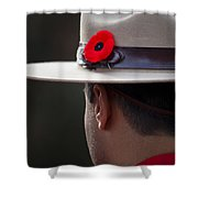 Remembrance Day Shower Curtain