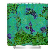 Remembrance Flowers Shower Curtain