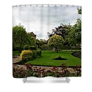 Remembrance Park - In Bakewell Town Peak District - England Shower Curtain