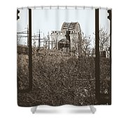 Reminiscent Of Earlier Travel Shower Curtain