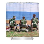 Reminiscing The Good Old Days Shower Curtain