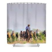 Remuda Run Shower Curtain