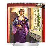 Renaissance Christmas Shower Curtain