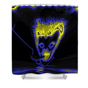 Rendezvous By Night Shower Curtain