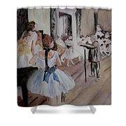 Dance Class By Degas Shower Curtain