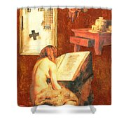 Repentance Shower Curtain