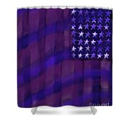 Repersentational Flag 3 Shower Curtain