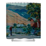 Reservation Life Shower Curtain