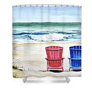 Reservations For Two Shower Curtain