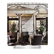 Reservations Only Venice Italy Shower Curtain