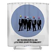 Reservoir Dogs Poster  Shower Curtain