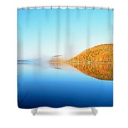 Reservoir At Dawn Shower Curtain