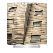 Chelsea High Line Residential Building Shower Curtain