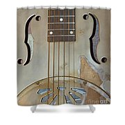 Resonator Detail Shower Curtain