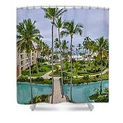 Resort In Dominican Republic Shower Curtain