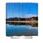Resort Reflections 2 Shower Curtain