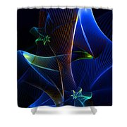 Rest After Dancing Shower Curtain
