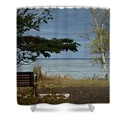 Rest And Relaxation Shower Curtain