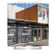 Restart Container Stores Shower Curtain