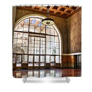 Restaurant In Los Angeles Union Station Shower Curtain
