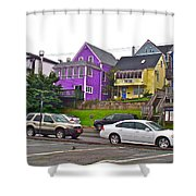 Restaurants In Lunenburg-ns Shower Curtain