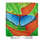 Resting Gently Shower Curtain