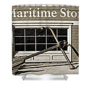 Restored Maritime Store Shower Curtain