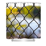 Restricted Access Shower Curtain