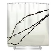 Restricted Shower Curtain