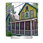 Resurrected In Asbury Grove In South Hamilton-massachusetts Shower Curtain