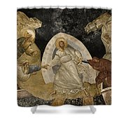 Resurrection Of Adam And Eve Panorama Shower Curtain