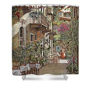 Rethimnon-crete-greece Shower Curtain