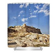 Rethymno Fortification Shower Curtain
