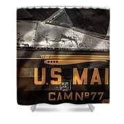 Retired Mail Carrier - Pitcairn P-6 Mailwing 1929 Shower Curtain