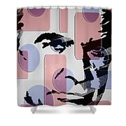 retro Bond Shower Curtain
