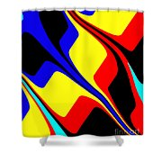 Retro Days Shower Curtain