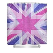 Retro Explosion 4 Shower Curtain