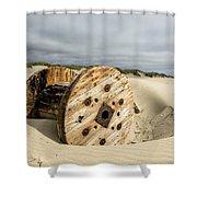 Returned Shower Curtain by Belinda Greb