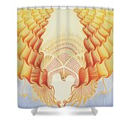 Returning Back To Life Shower Curtain