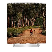 Returning Home Shower Curtain by Mary Jo Allen