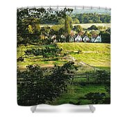 Returning Home .. As A Canvas Shower Curtain