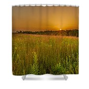Retzer Sunset Shower Curtain