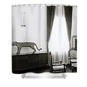 Reunification Palace In Saigon Shower Curtain