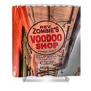 Rev. Zombie's Shower Curtain