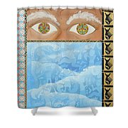 Revelations Shower Curtain