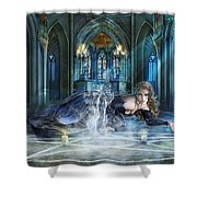 Reverence Shower Curtain
