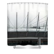 Revised Old Bc Place Shower Curtain