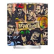 Revolutionary Hip Hop Shower Curtain